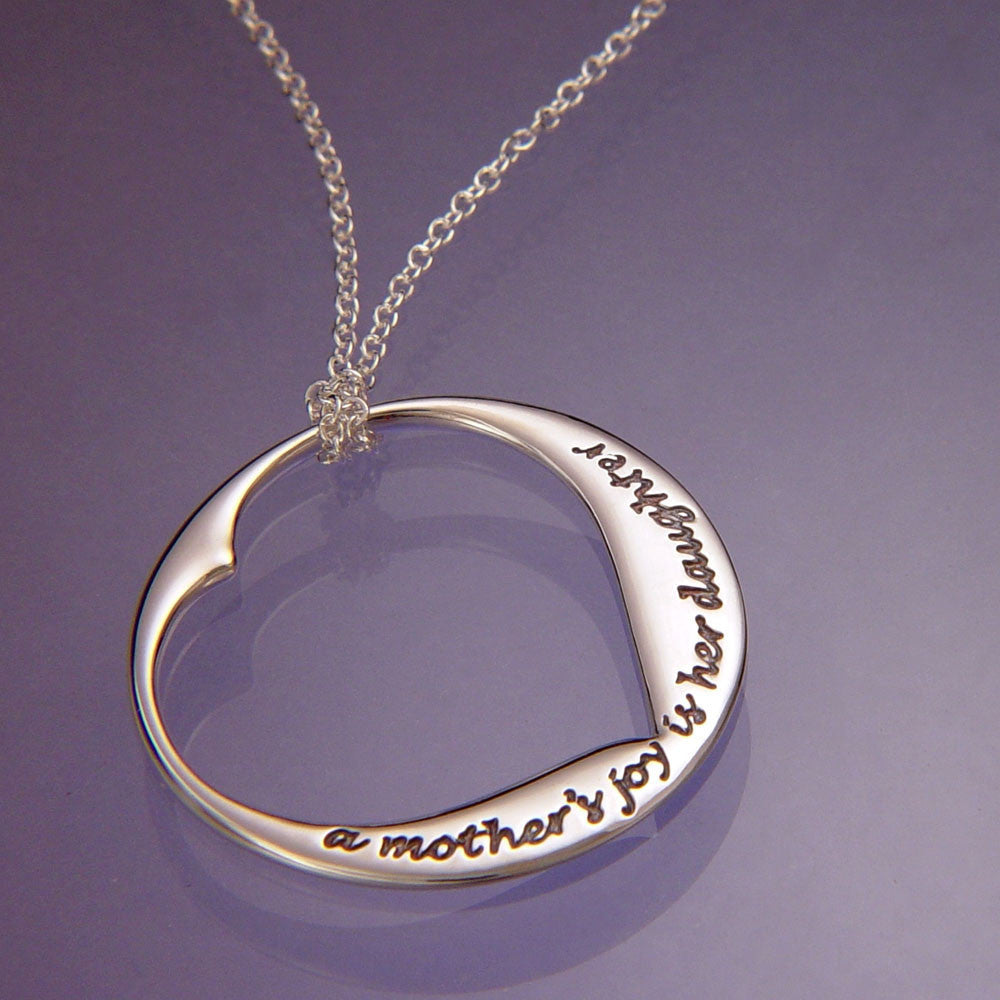 A Mother's Joy Sterling Silver Necklace
