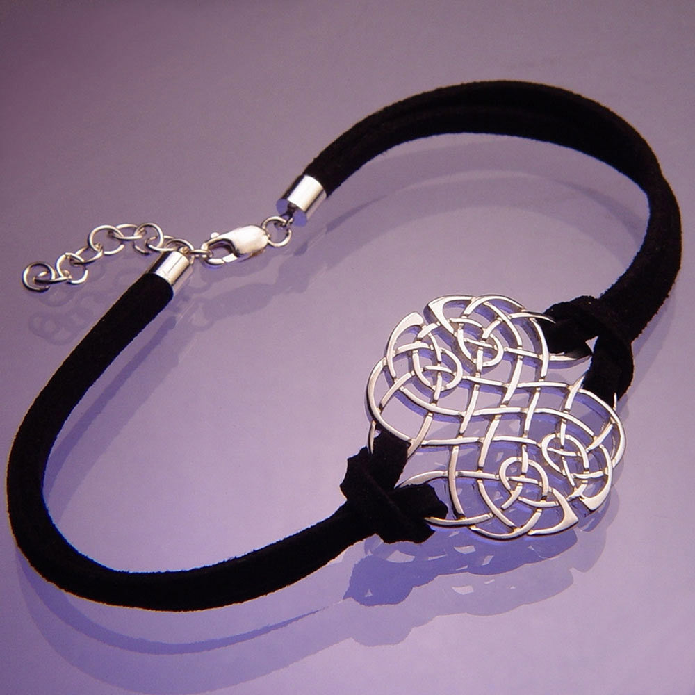 Celtic Interlace Knot Sterling Silver