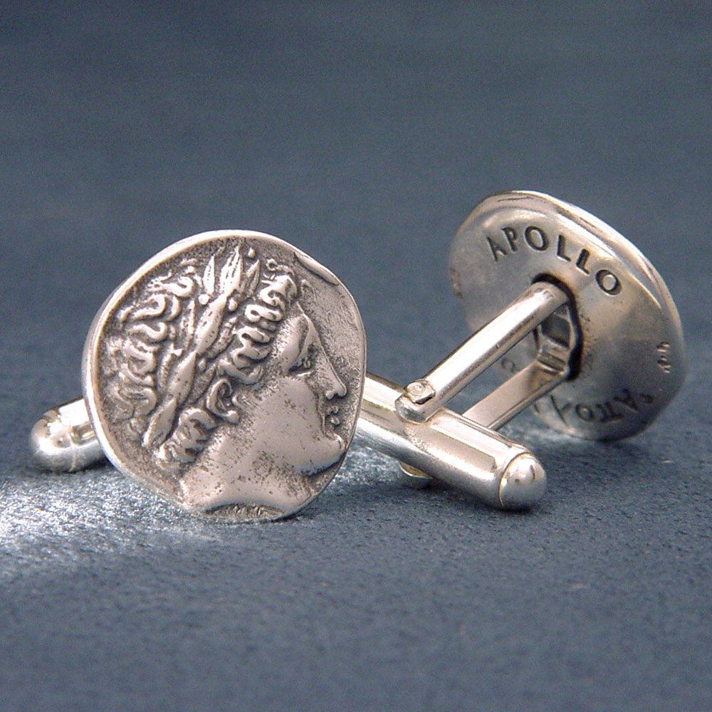 Apollo Sterling Silver Cuff Links