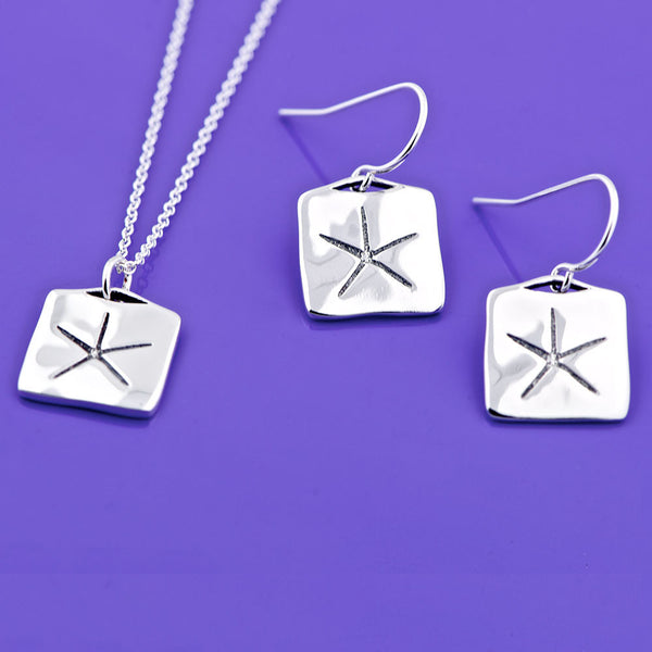 Egyptian Star Sterling Silver Necklace