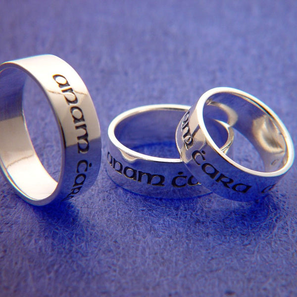 Gaelic: Soul Friend Sterling Silver