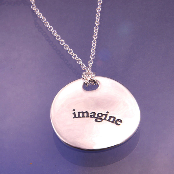 Imagine Sterling Silver Necklace