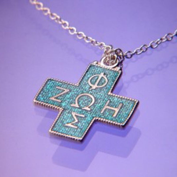 Life Cross Sterling Silver Christian Necklace