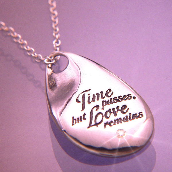 Love Remains Sterling Silver Necklace