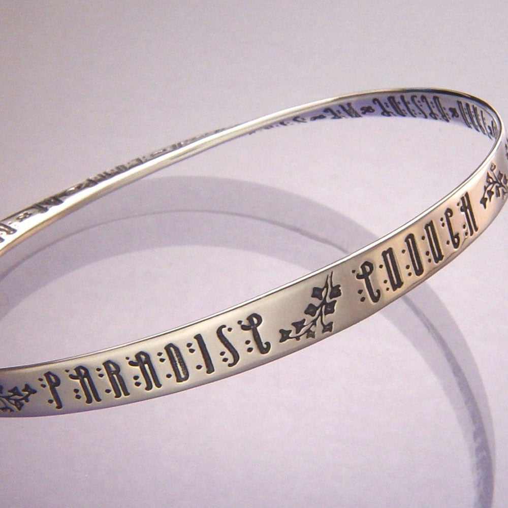 Paradise Enough Sterling Silver Mobius Bracelet
