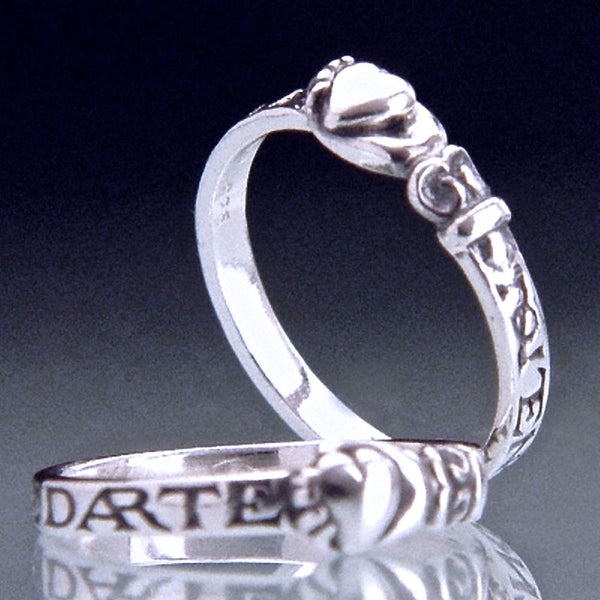 Spanish I Give You My Heart Sterling Silver Ring