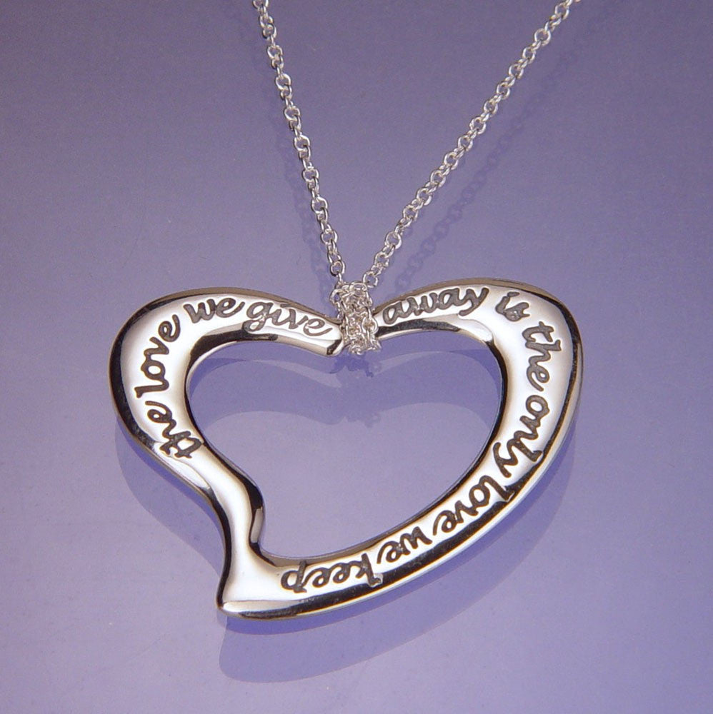 The Only Love We Keep Sterling Silver Necklace