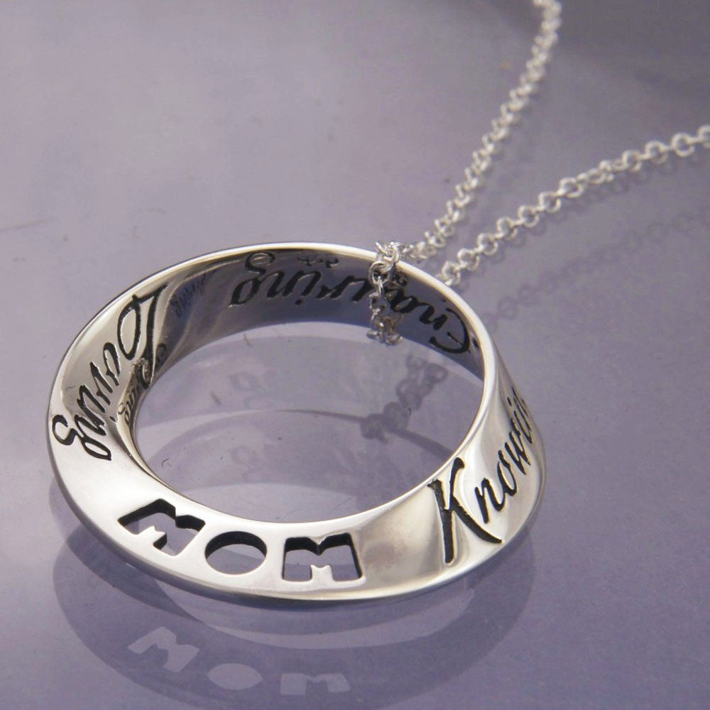 Things That Are Mom Sterling Silver Necklace