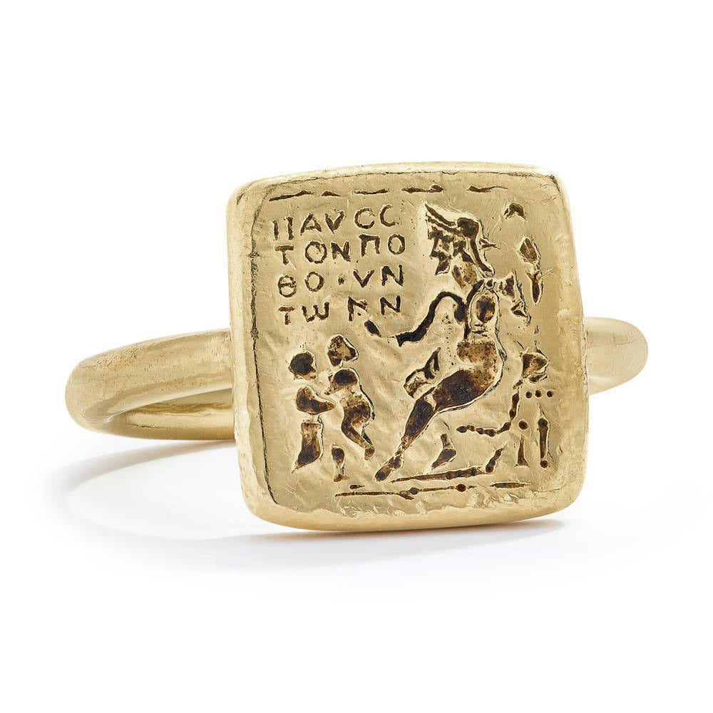 Venus Lovers Ring - 14K Gold
