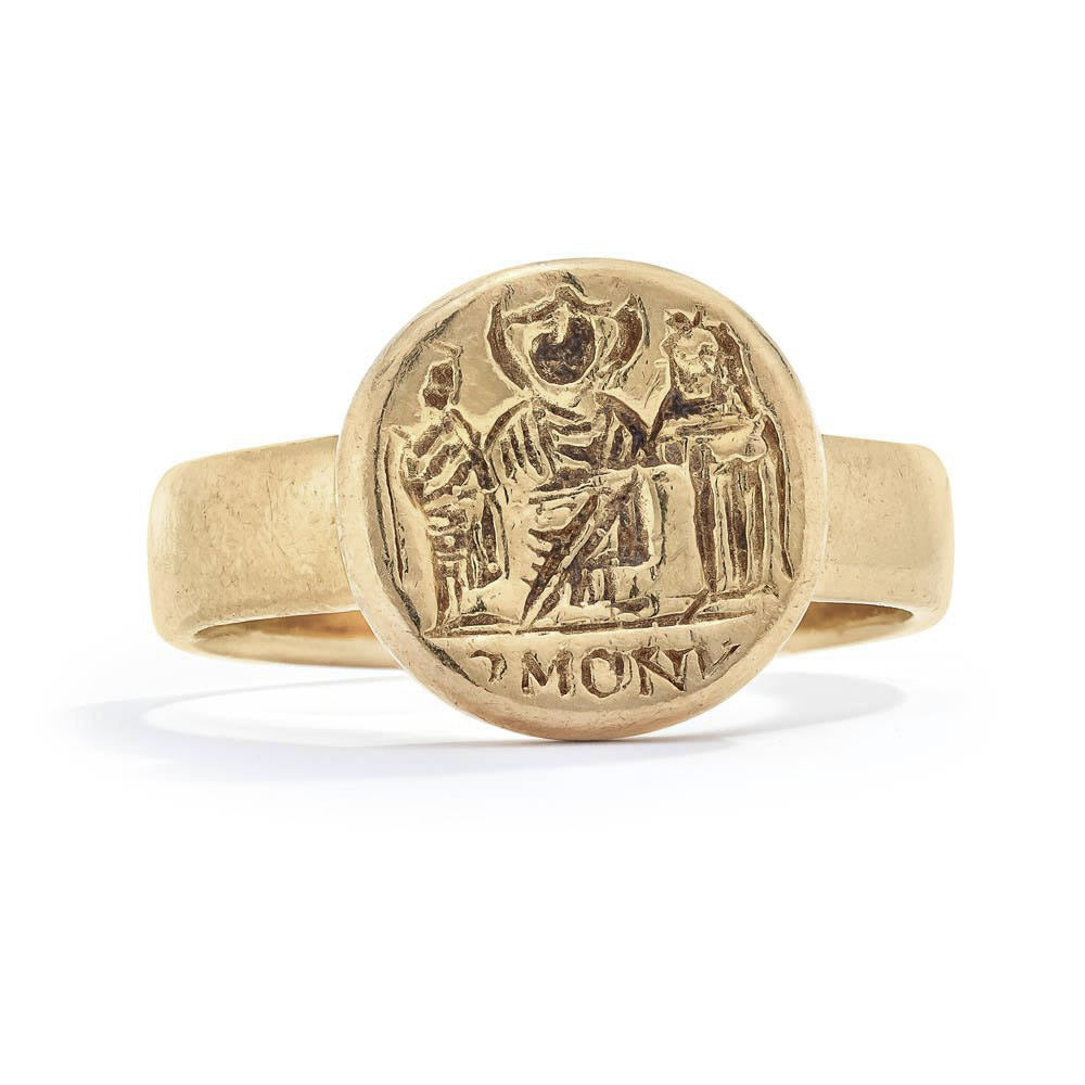 Harmony Marriage Ring - 14K Gold