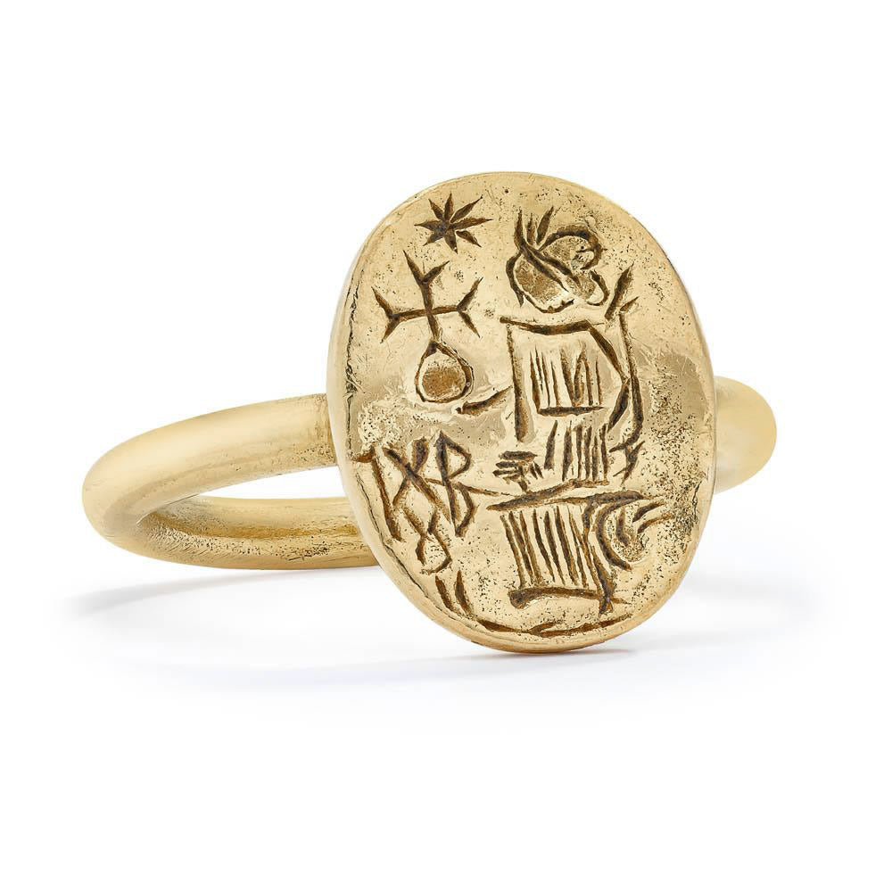 Victory Ring - 14K Gold