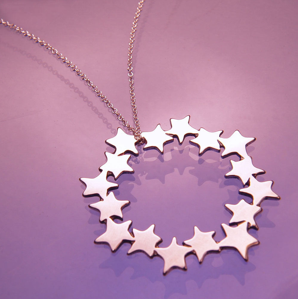 Wish Upon A Star Sterling Silver Necklace