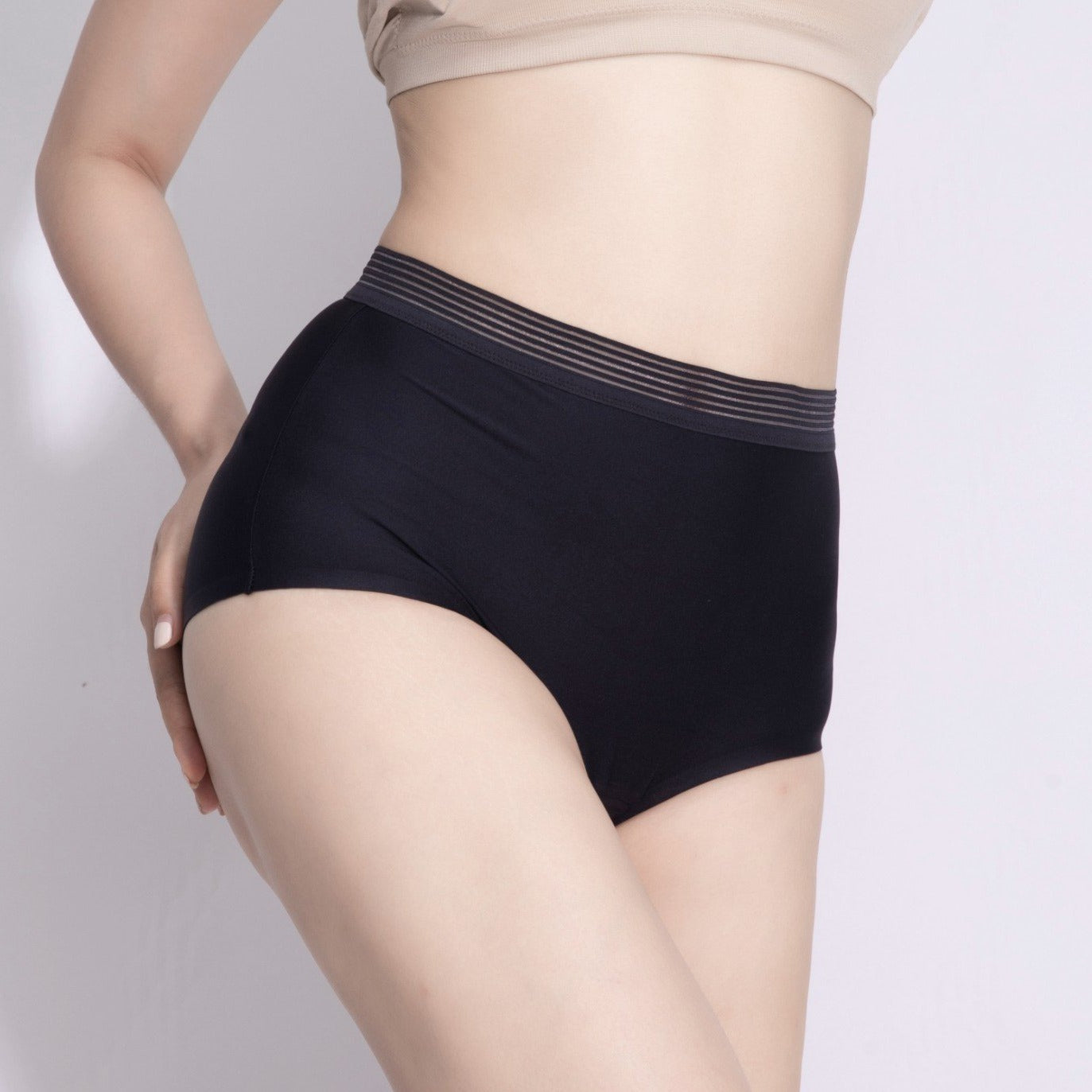 High Waisted Brief underwear leakproof incontinence underwear period underwear