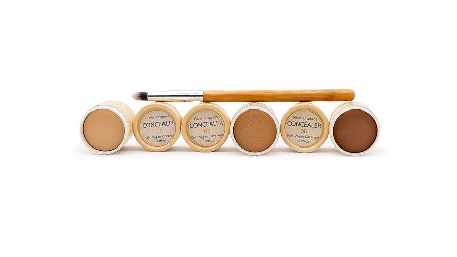 zero waste concealer group brush open norapola