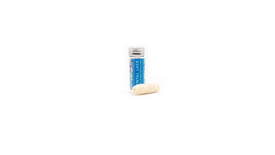 zero waste dental floss blue norapola