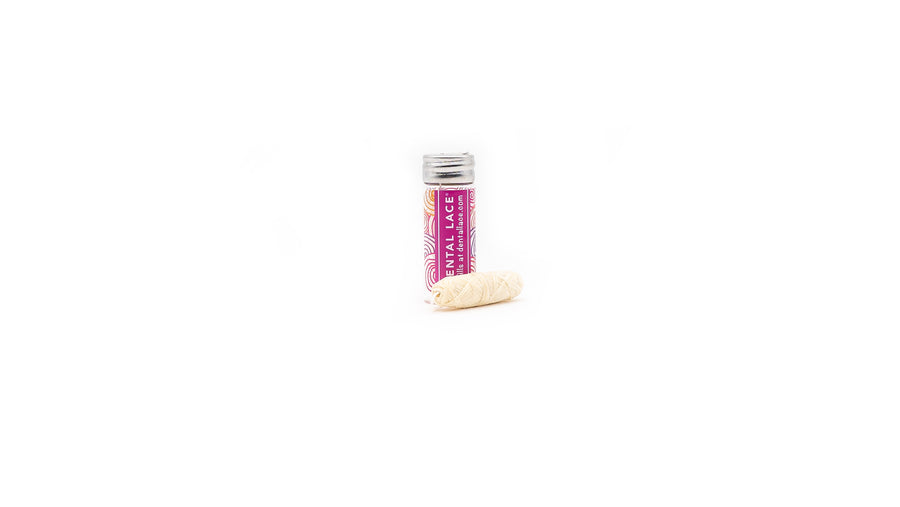 zero waste dental floss pink norapola