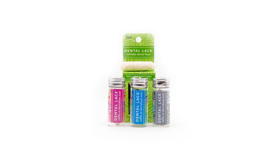 zero waste dental floss set norapola