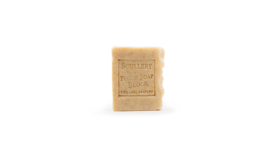 zero waste scullery floor soap block norapola