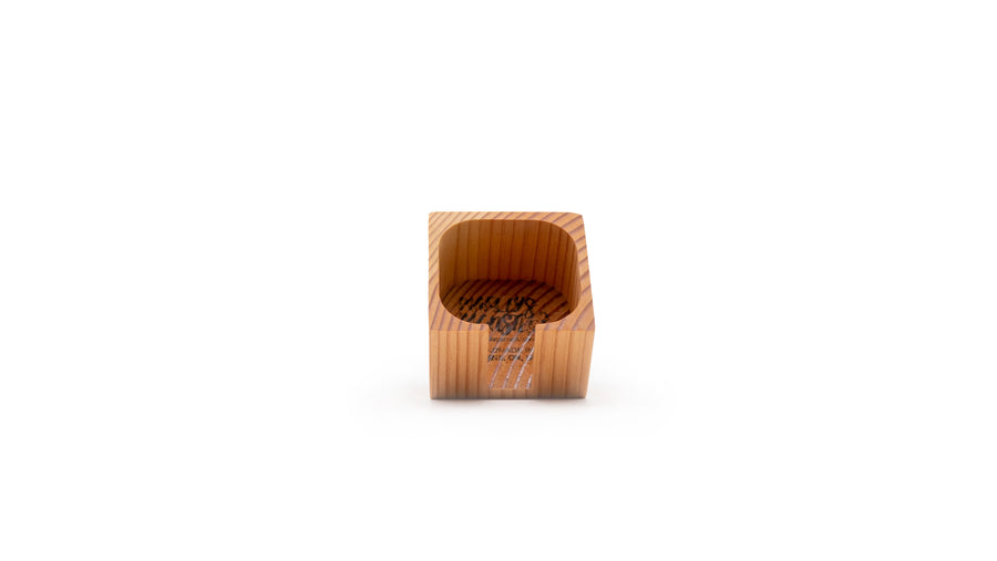 zero waste wooden rounder holder norapola