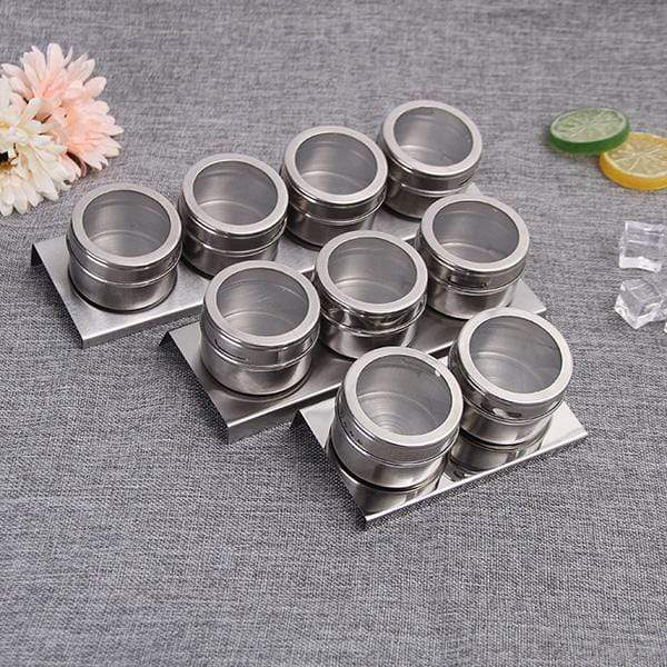 Magnetic Spice Jar