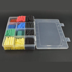 530pcs Heat Shrink Wrap Wire Cable Sleeve Kit