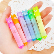 Load image into Gallery viewer, Kawaii Mini Highlighters: Set of 6