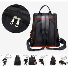 Load image into Gallery viewer, Women Anti-Theft Backpack