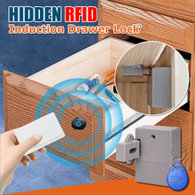 Load image into Gallery viewer, Hidden RFID Induction Drawer Lock