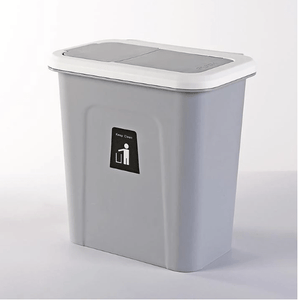Push-top Trash Can