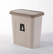 Load image into Gallery viewer, Push-top Trash Can