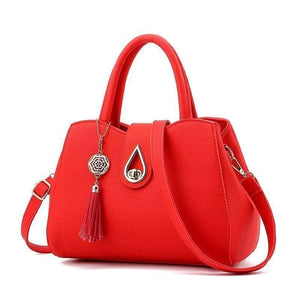 Top-Handle Multi-pocket Handbag Shoulder Bag