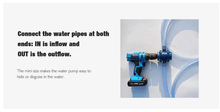 Load image into Gallery viewer, Hand Drill Water Pump Attachment