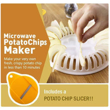 Load image into Gallery viewer, Microwave Potato Chips Maker
