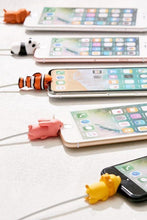 Load image into Gallery viewer, Last day promotion- The Cute Animal Cable Protector
