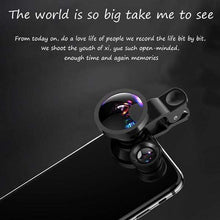 Load image into Gallery viewer, 3 in 1 Universal Mobile Phone Lens