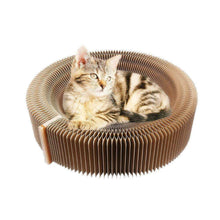 Load image into Gallery viewer, Collapsible Cat Scratcher