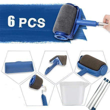 Load image into Gallery viewer, Handle Paint Roller Brush Kit (6PCS)