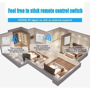 Smart Wireless Bedroom Light Switch Kit£¨2pcs£©