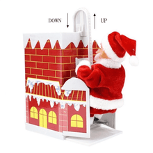 Load image into Gallery viewer, Chimney Climbing Santa Claus
