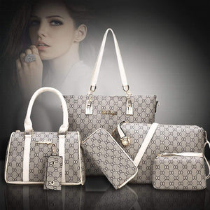Classic Six Piece Set Handbag (Buy one get five)