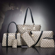 Load image into Gallery viewer, Classic Six Piece Set Handbag (Buy one get five)