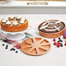 Load image into Gallery viewer, 3-in-1 Copper Mold Cake Pan