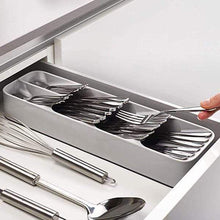 Load image into Gallery viewer, DrawerStore Compact Cutlery Organiser