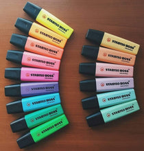 Load image into Gallery viewer, STABILO Boss Original Pastel and Neon Highlighters: Set of 6, 9, 15