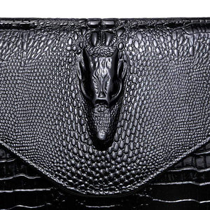 Genuine Leather Evening Bags with Chain