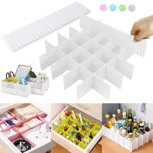 Load image into Gallery viewer, ¡¾Limited Promotion¡¿4PCS Drawer Dividers For Cosmetic, Clothes, Kitchenware,or Medicine Storage
