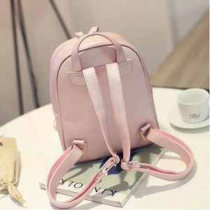 Chic Leather Backpack: 3 colors