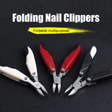 Load image into Gallery viewer, Folding Nail Clippers