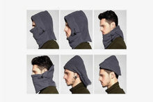Load image into Gallery viewer, Soft and Warm 4-in-1 Fleece Face Mask