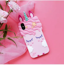 Load image into Gallery viewer, Dreamy Unicorn Phone Case for iPhone and Samsung